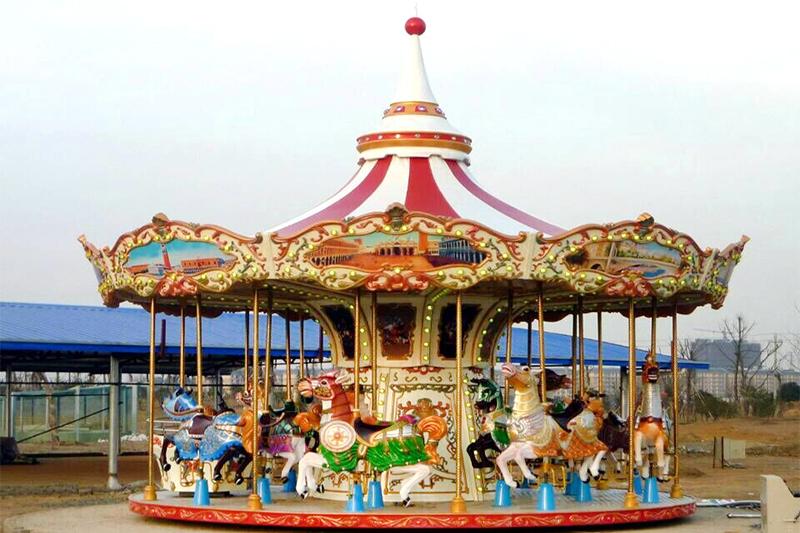 20 seat carousel