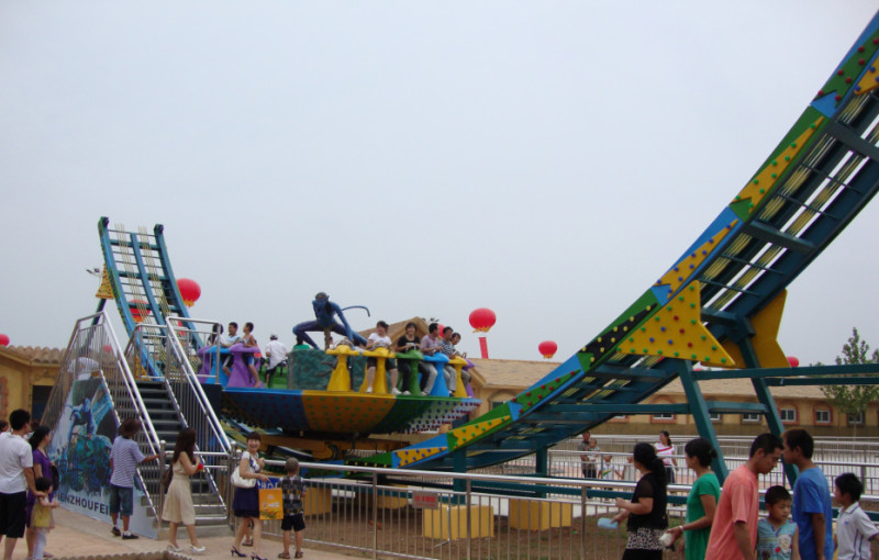Amusement Park Ride Disco Flying UFO Ride For Sale