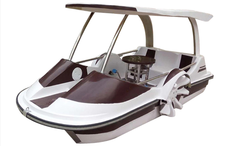 European style pedal boat for 4 persons
