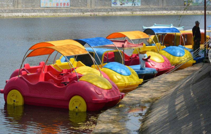 Newest car shape pedal boat, car boat for sell,Beetle car boat