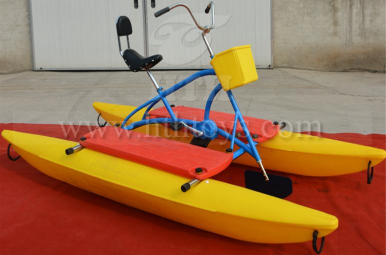 Summer time hot sale PE material water bike,water pedal bike,water bicycle